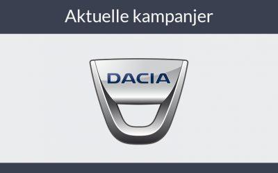 Kikk nærmere på robuste og tøffe Dacia Duster
